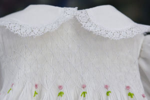 Hand Smocked Dress - First Communion - Diane