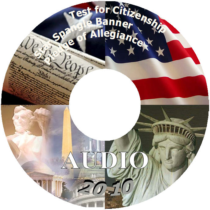 The Audio CD of the Study Guide for the US Citizenship Interview