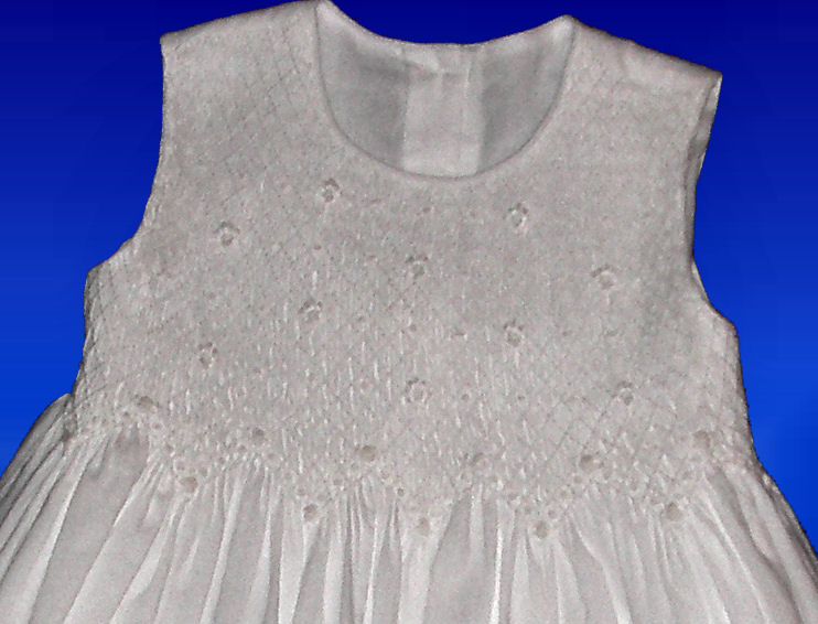 Hand Smocked Dress- First Communion - Hailey
