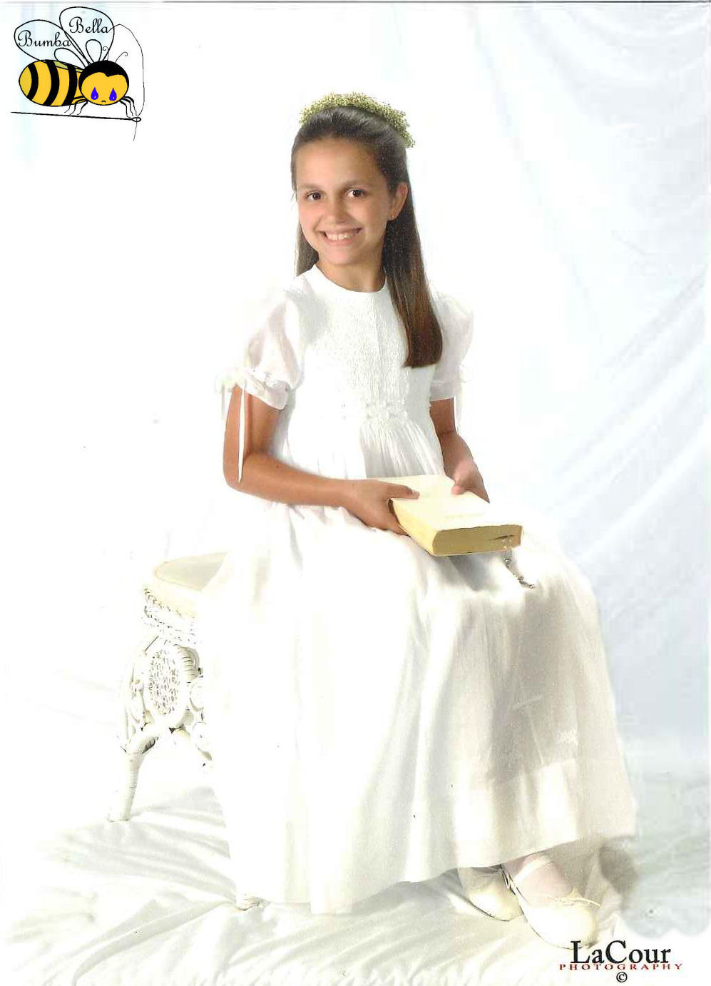 Hand Smocked Dress- First Communion - Harper