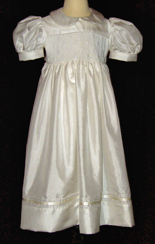 Hand Smocked Dress - Flower Girl Dress – Lila