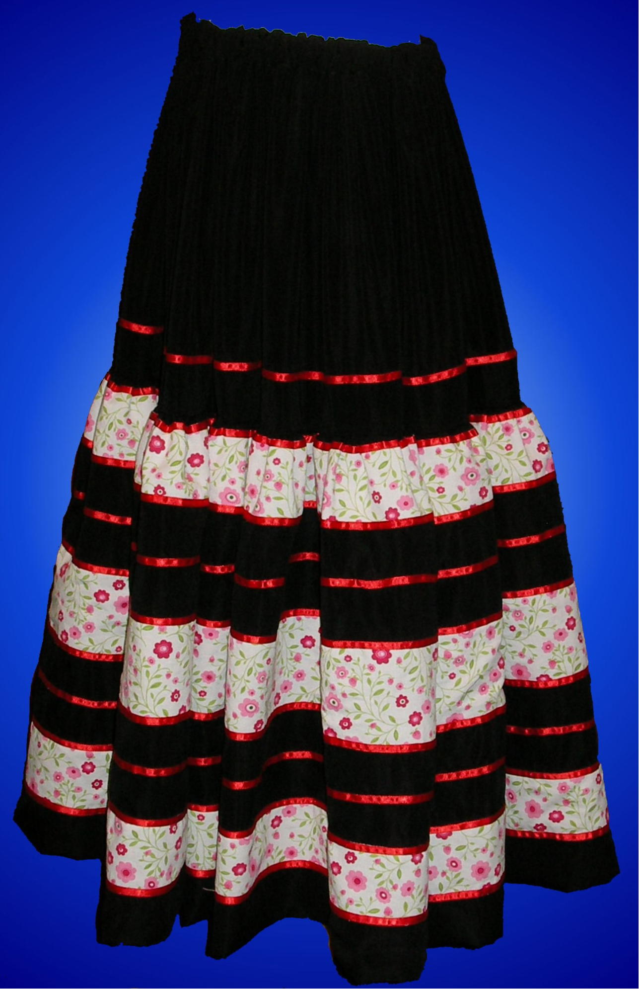 Traditional Colombian Folkloric - Skirt Women