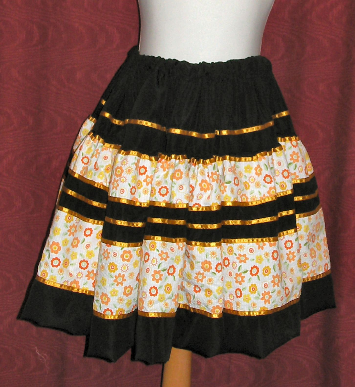 Traditional Colombian Folkloric - Child Skirt