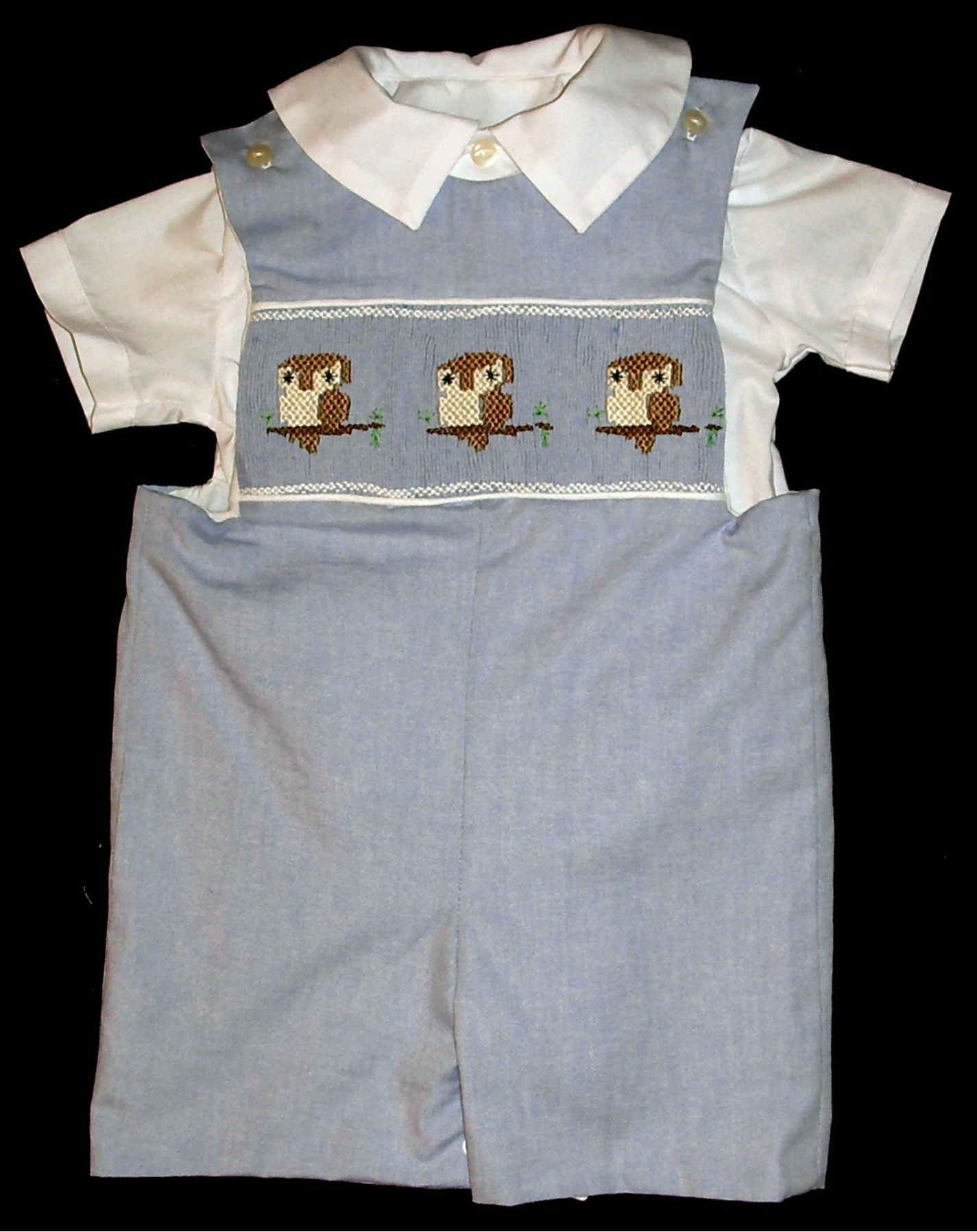 Three Lions Boys Blue Shortall