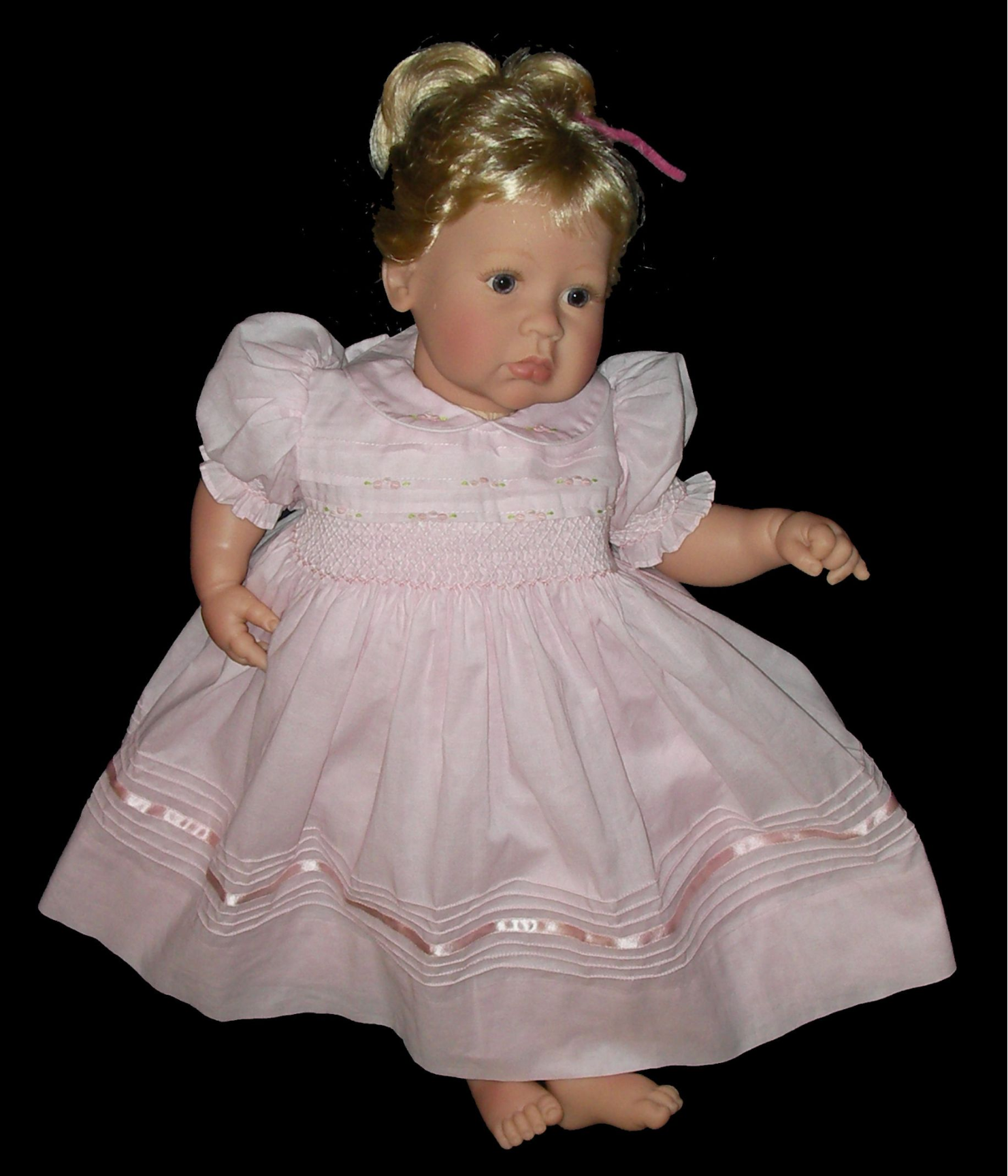Hand Smocked Dress- 3 months to 2 years - Ingrid