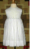 Beaded Hand Smocked Dress - Charlott