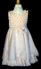 Pleated Dress - Peach - size 4