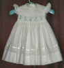 Hand Smocked Flower Girl Dress - Isabel