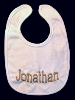 Machine Embroidered _ Baby's Bib _ Jonathan