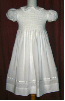 Hand smocked beaded girls dress - First Communion - Kathy