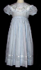 Hand Embroidered Dress with Whilte Collar - Marjorie