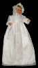 Irish Linen Christening Gown - Olympia