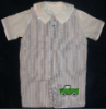 Machine Embroidered Pickup Truck Boys Shortall - Romper - Playsuit - Overall - Dungaree