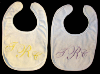 Machine Embroidered _ Baby's Bib _ T.C.R.