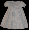 Bishop Blue Hand smocked dress - Nelly