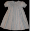 Bishop Blue Hand smocked dress - Nelly (SKU: S20140322)
