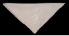 Machine Monogrammed Handkerchief
