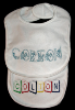 Machine Embroidered _ Baby's Bib _ Colton