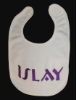 Machine Embroidered _ Baby's Bib _ Islay