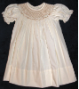 Bishop Ecru Hand smocked dress - Mara