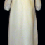 Front view of gown