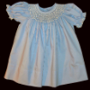 Bishop Blue Hand smocked dress - Wendy