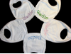 Machine Embroidered _ Baby's Bib _ Sadie