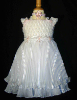 Pleated Dress - White - size 4 - SOLD OUT
