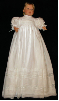 Hand-Embroidered Hand-Smocked Christening Gown - Sophia