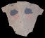 Boy's Bodysuit - Fabric Applique (SKU: BR20121229)