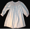 Bishop Blue Hand smocked dress - Eloise