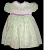 Dress with Simple Hand Smocked Insert