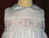Hand Smocked Dress - Flower Girl Dress - Hannah2