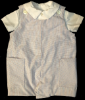 Boys Baby Short Romper Two-Piece Combination - Flannel Lined